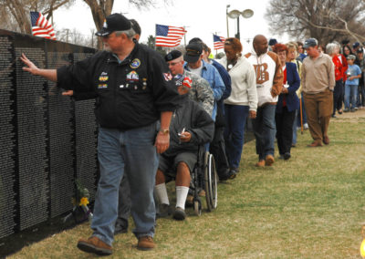 Traveling Vietnam Wall arrives in Clovis