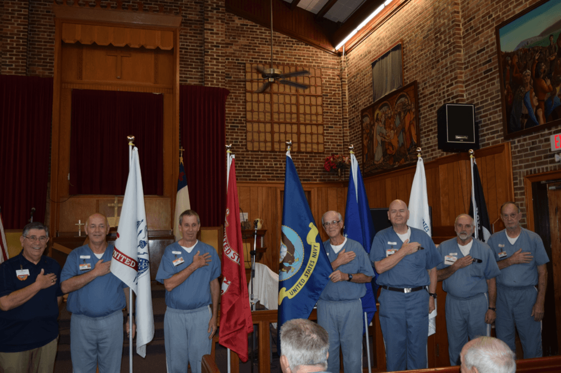 Five Service Flags