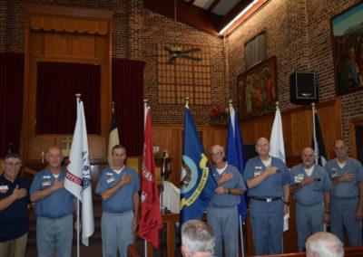 Five Service Flags copy